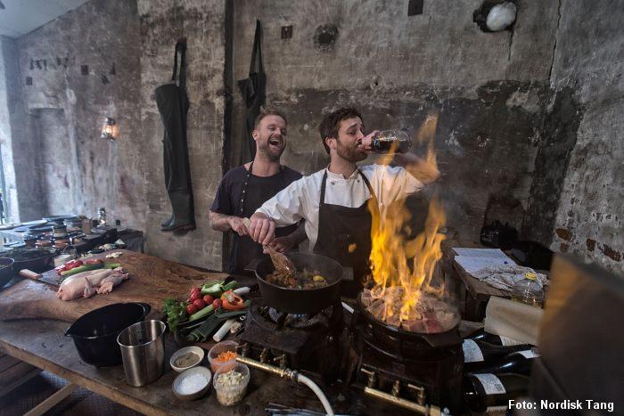 Brug tang i det nye nordiske køkken